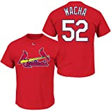 Michael Wacha St. Louis Cardinals #52 MLB Youth Name & Number Player T-shirt Red (Youth XLarge 18/20)