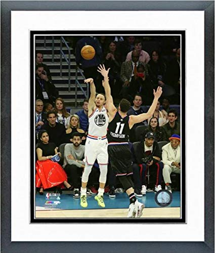 "Stephen Curry Golden State Warriors 2019 NBA All Star Game Action Photo (Size: 12.5"" x 15.5"" Framed)"