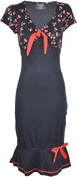 Küstenluder Damen Kleid Larissa Kirschen Mermaid Dress