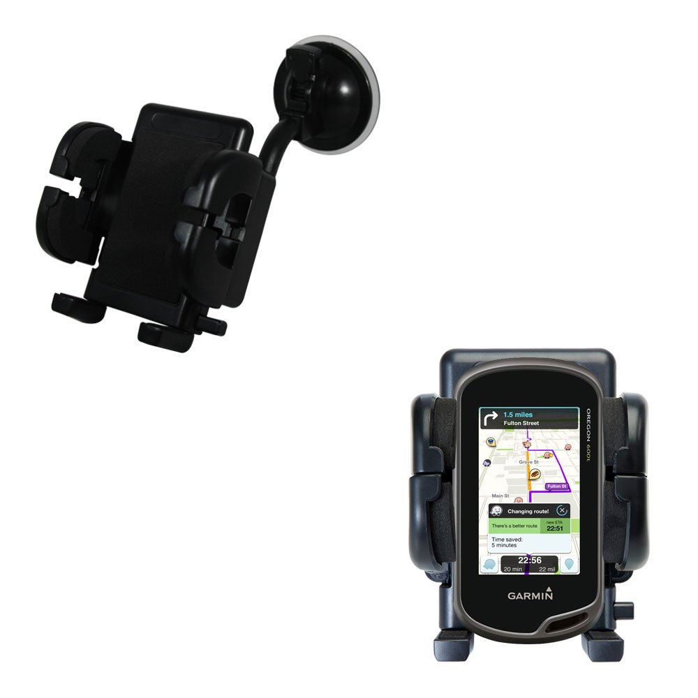 85off Gomadic Brand Flexible Car Auto Windshield Holder Mount Garmin Drive 51 Gps Mobil Touchscreen Designed For The Oregon
