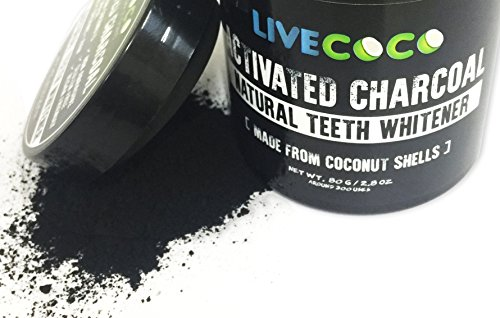 photo Wallpaper of LiveCoco-LiveCoco LIMITED TIME Activated Charcoal 2.8oz=Around 300 Uses-