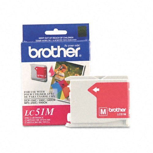 (Brother International LC51M Magenta Ink MFC240c 440cn)