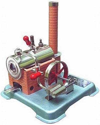 Jensen Steam Engine Dry Fuel Heated 76