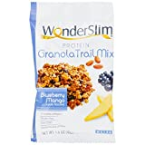 #9: WonderSlim High Protein Granola Trail Mix, Blueberry Mango - 1.5 oz (10 bags)