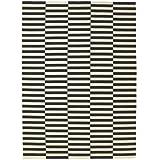 Ikea Stockholm Teppich ikea stockholm teppich in schwarz weiß flach gewebt handarbeit