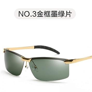 Burenqiq Gafas de Sol Retro Gafas de Sol polarizadas para Hombre Gafas de Sol polarizadas para Hombre, Marco Polar Verde Oscuro: Amazon.es: Deportes y aire ...