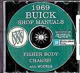 1969 BUICK REPAIR SHOP & SERVICE MANUAL & FISHER BODY MANUAL CD INCLUDES Special Deluxe, G.S. 350, Skylark, Skylark Custom, Sportwagon, Sportwagon Wood Grain, G.S. 400, LeSabre, LeSabre Custom, Wildcat, Wildcat Custom 69