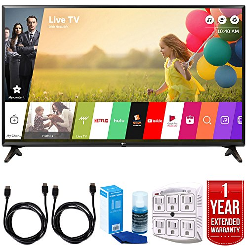 LG Electronics 49LJ550M 49-Inch Class Full HD 1080p Smart LED TV 2018 Model