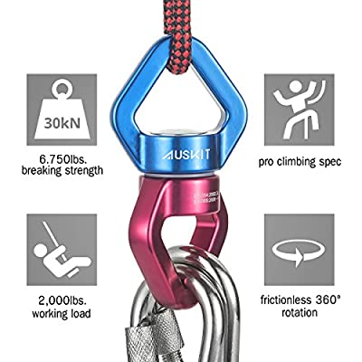 AusKit Safest Rotational Device Hanging Accessory: Sports & Outdoors