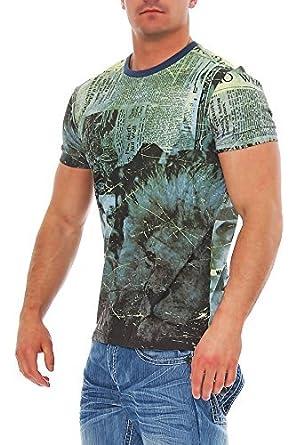Desigual para Hombre T-Camisa de Polo de Victor 47T1448: Amazon.es ...