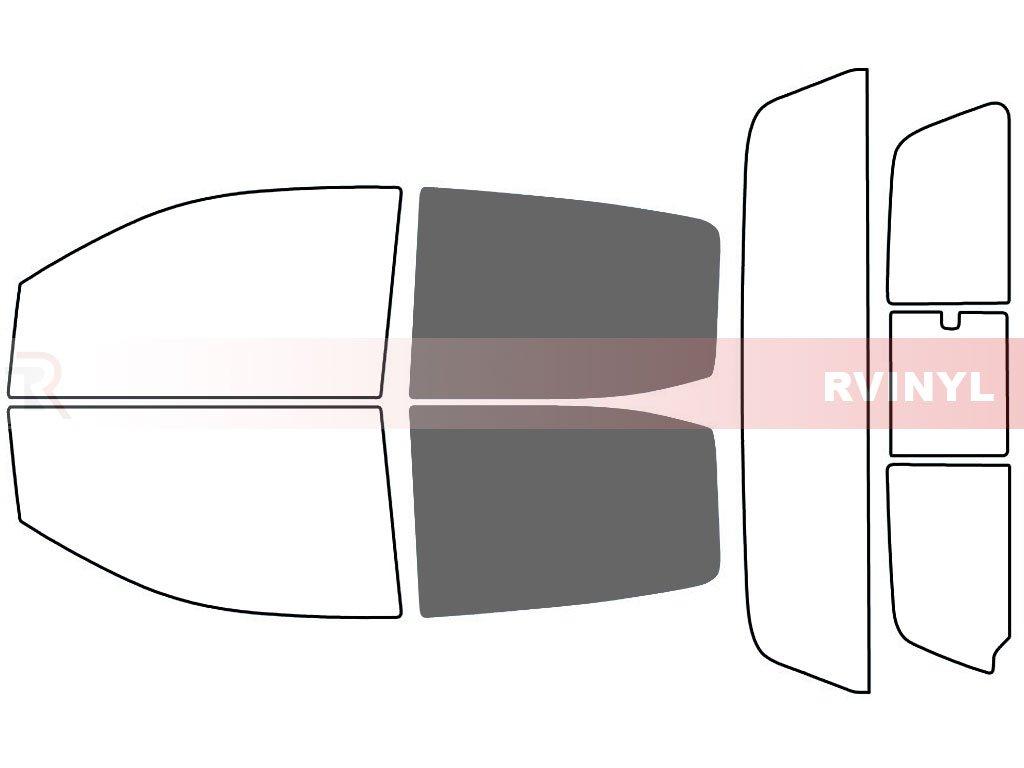 4 Door Rtint Window Tint Kit for Chevrolet Colorado 2015-2019 20/% - Front Kit