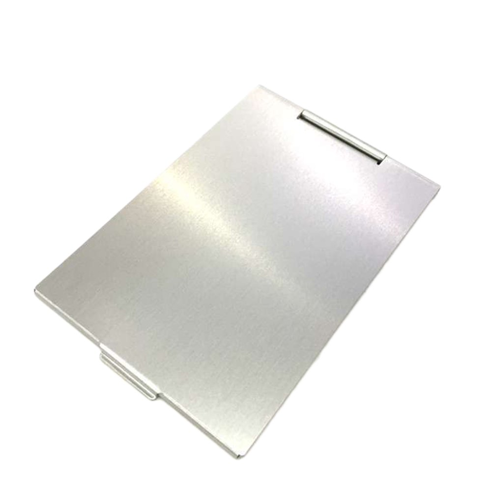 Scrox 1x Mini Espejo de bolsillo portátil Espejo Ultraligero Espejo de maquillaje 9.8x6.8cm