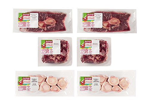 Rumba Meats Beef Bone Broth Box, Oxtail, Hindshank, and Marrow Bones, Frozen (Pack of 6) by Rumba (Image #9)