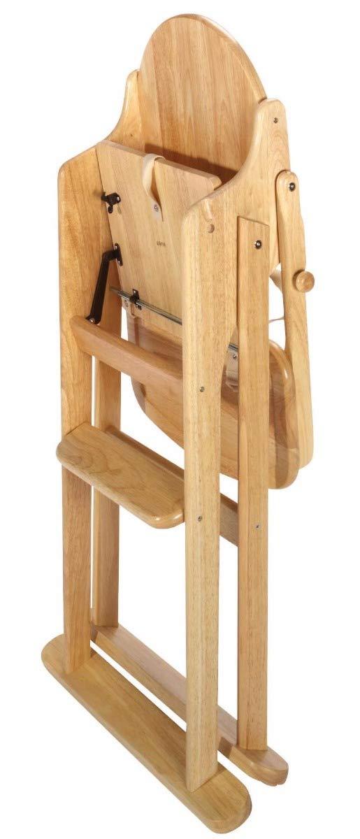 East Coast Folding Highchair Natural