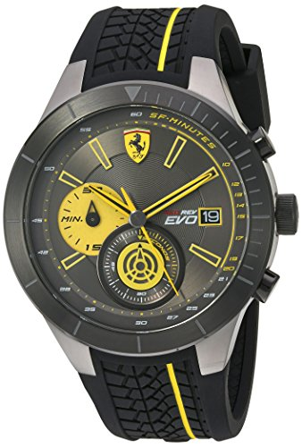 scuderia-ferrari-mens-quartz-stainless-steel-and-silicone-casual-watch-colorblack-model-830342