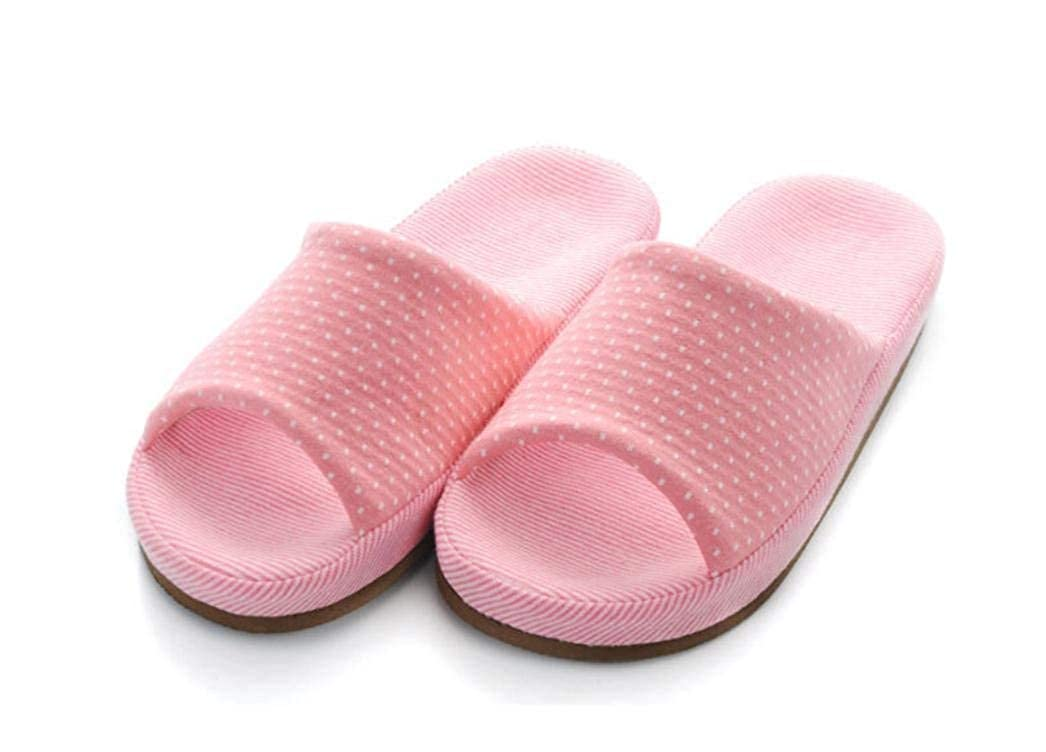 Pink JaHGDU Women Four Seasons Home shoes Slippers Ladies Soft Indoor and Leisure Home Girl Slippers Pink for Women