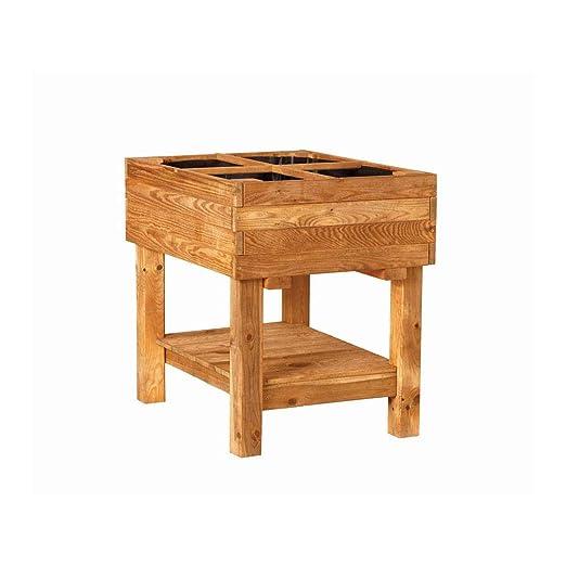 Mesa de cultivo madera Germin 60: Amazon.es: Jardín