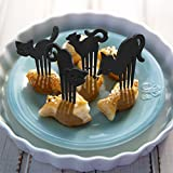 Fred & Friends MMMEOW Cat Party Picks, Set of 16