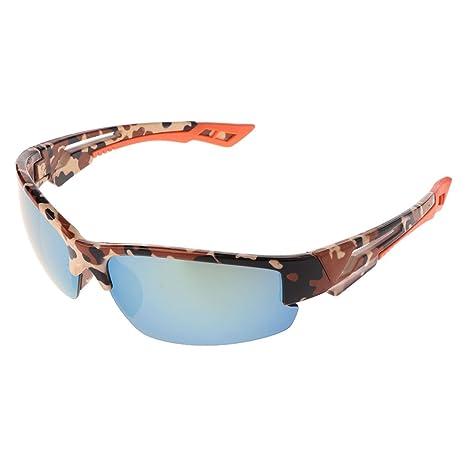 Lamdoo Gafas de Sol de Ciclismo polarizadas Gafas de protección de conducción Deportes de Pesca UV400