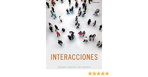 Amazon Bundle Interacciones 7th ILrnTM Heinle Learning Center Printed Access Card 9781133907664 Emily Spinelli Carmen Garcia Carol E Galvin