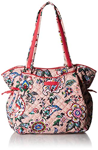 Vera Bradley Iconic Glenna Satchel, Signature Cotton, Stitched ()