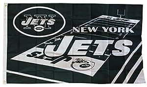 New York Jets - 3' x 5' NFL Field Flag