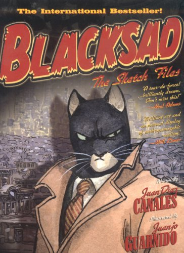 Blacksad: The Sketch Files by Byron Preiss Graphic Novels