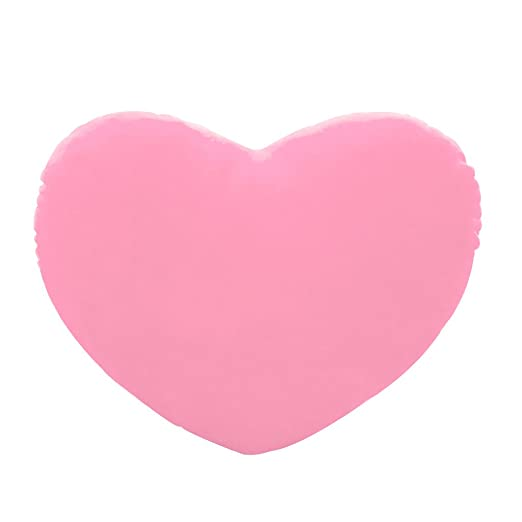 Haorw Peluche Cojín de Corazón Forma de Corazón para Cumpleaños/San Valentín/Tuerca Día/Regalo, 20 cm