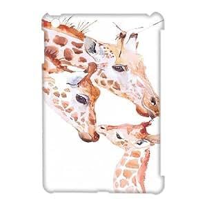 Giraffe Custom 3D Plastic Case for iPad Mini by Nickcase