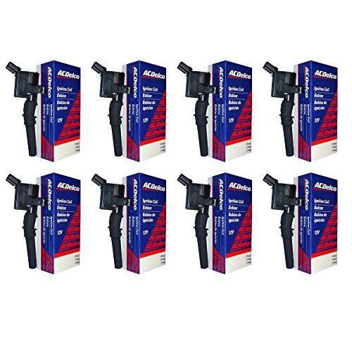 - New ACDelco Ignition Coil Set (8) 1997 1998 1999 2000 2001 2002 2003 2004 Ford F-150 V8-5.4L DG508 F523