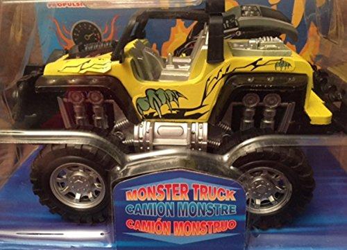 yellow monster truck - 2
