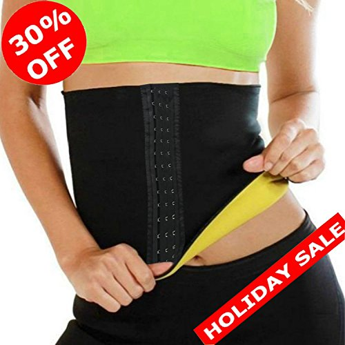 SAYFUT Hot Thermo Sweat Neoprene Shapers Slimming Belt for Weight Loss