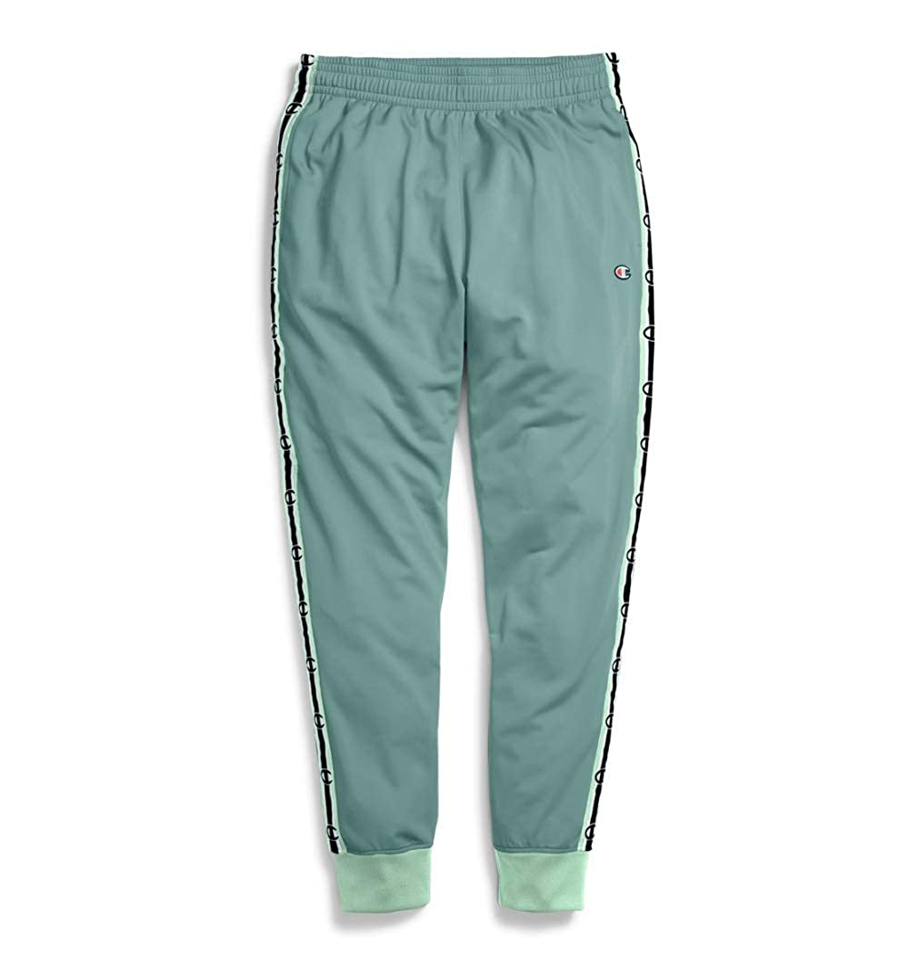 cheap for discount authorized site detailed look Champion Mens New Taping Track Pants Green at Amazon Men's ...