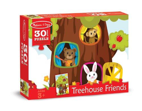 Melissa Doug Treehouse Animal Friends