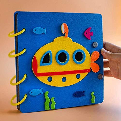 ZHAS 8-inch Paste Album Photo Storage Baby Growth Album Couple Creative Album-The Underwater World