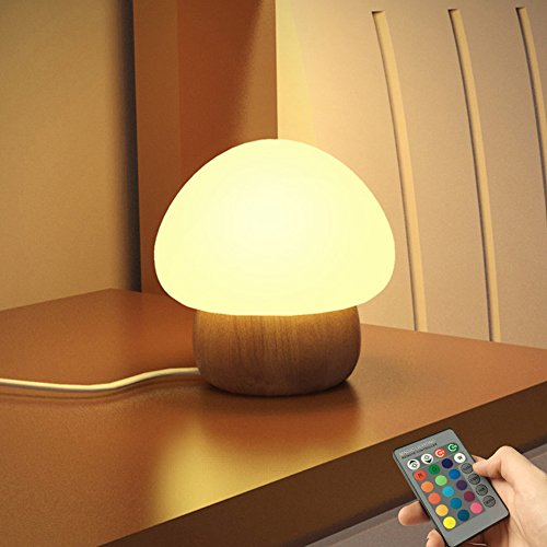 ANGTUO Night Light LED Mushroom Lamp Silicone with ...