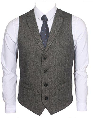 Tailored Wool Vest - 1