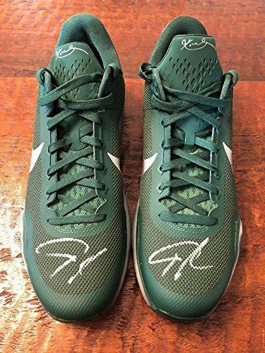 Giannis Antetokounmpo Dual Autographed Signed Nike Kobe Shoes PSA/DNA Milwaukee Bucks