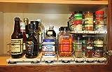 Vertical Spice - x10 Bundle - Spice Rack / Storage Organizers - 3 Product (Shallow) Combination Kit (222x2x10, 33x1x10 & 6x1x10)