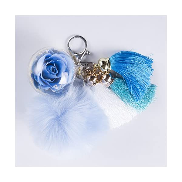 NW-1776-Hand-Made-Flowers-Never-Fade-KeychainPlush-Ball-Eternal-Flowers-Perfect-Clothing-and-Bag-Accessories-Gift-with-for-Valentines-Day-Mothers-Day-Christmas-Anniversary-Birthday