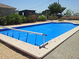 INTERNATIONAL COVER POOL Enrollador y Manta Térmica 3x6 m para ...