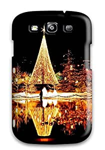 Protection Case For Galaxy S3 / Case Cover For Galaxy(cool Christmas Nights)