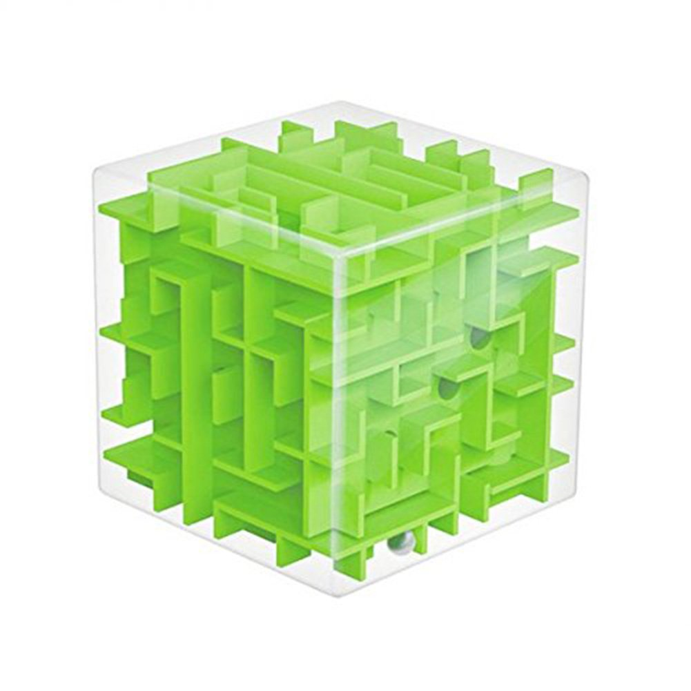 Smatrix Green Trekbest 3D Magic Cube Puzzle Box Sequential Puzzles as Birthday Gift