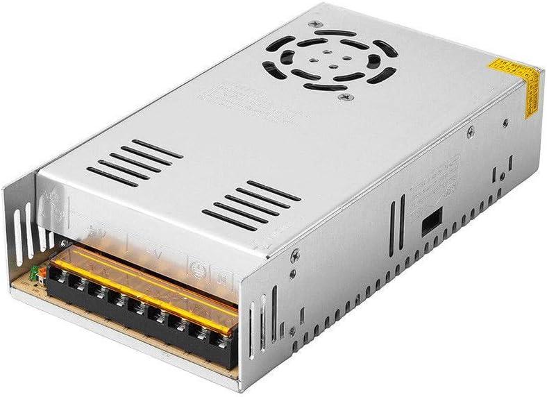 Fuente de alimentación conmutada 24V 20A 480W Transformadores de fuente de alimentación conmutada regulada universal para tira de luz LED, CCTV, radio, proyecto de computadora