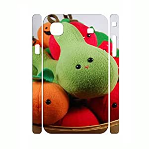 Awesome Kawaii Fruit Seris Hard Plastic Drop Protection Shell Case for Samsung Galaxy S I9000 by lolosakes