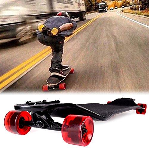 "SOLOMONE CAVALLI Professional 41"" X 9.5"" Longboard Skateboar"