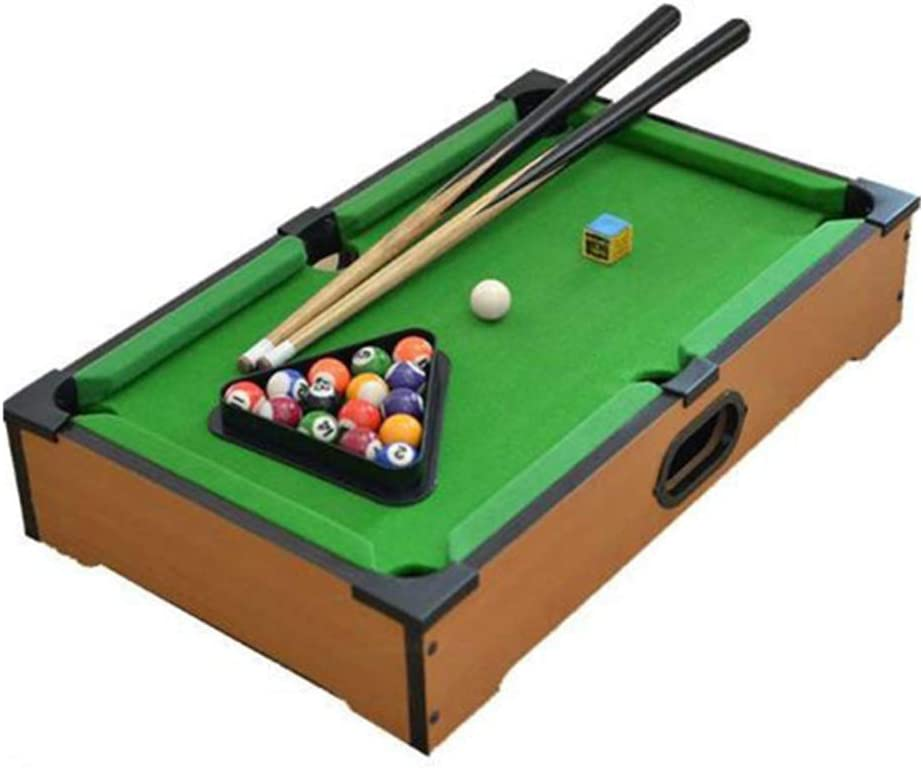 YuYzHanG Mini Mesa De Billar Mini Mini Mesa De Billar Juego De Mesa De Billar Juguetes Mesa De Billar Table Top Pool Game (Color, Size : 31x51x11cm): Amazon.es: Hogar