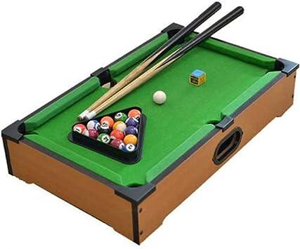 Billar Snooker Plegable For Adultos de Mesa Mesa de Billar de Juguete niños Mini-Piscina Mesa de Billar de Mesa en Miniatura Pool Juego Set Los niños de Mesa Juguete: Amazon.es: Hogar
