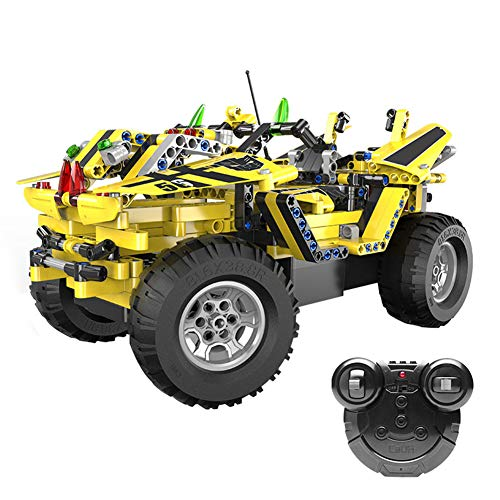 Yyz Racing Series Remote Control Building Block Assembling Wasps Pickup Blocks Children's Educational Puzzles Birthday Gifts Two Styles -