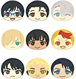 ユーリ!!! on ICE おまんじゅうにぎにぎマスコット BOX商品 1BOX = 9個入り、全9種類